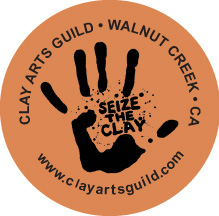 Clay Arts Guild - Seize the Clay Logo