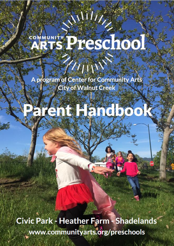 Parent Handboook Cover